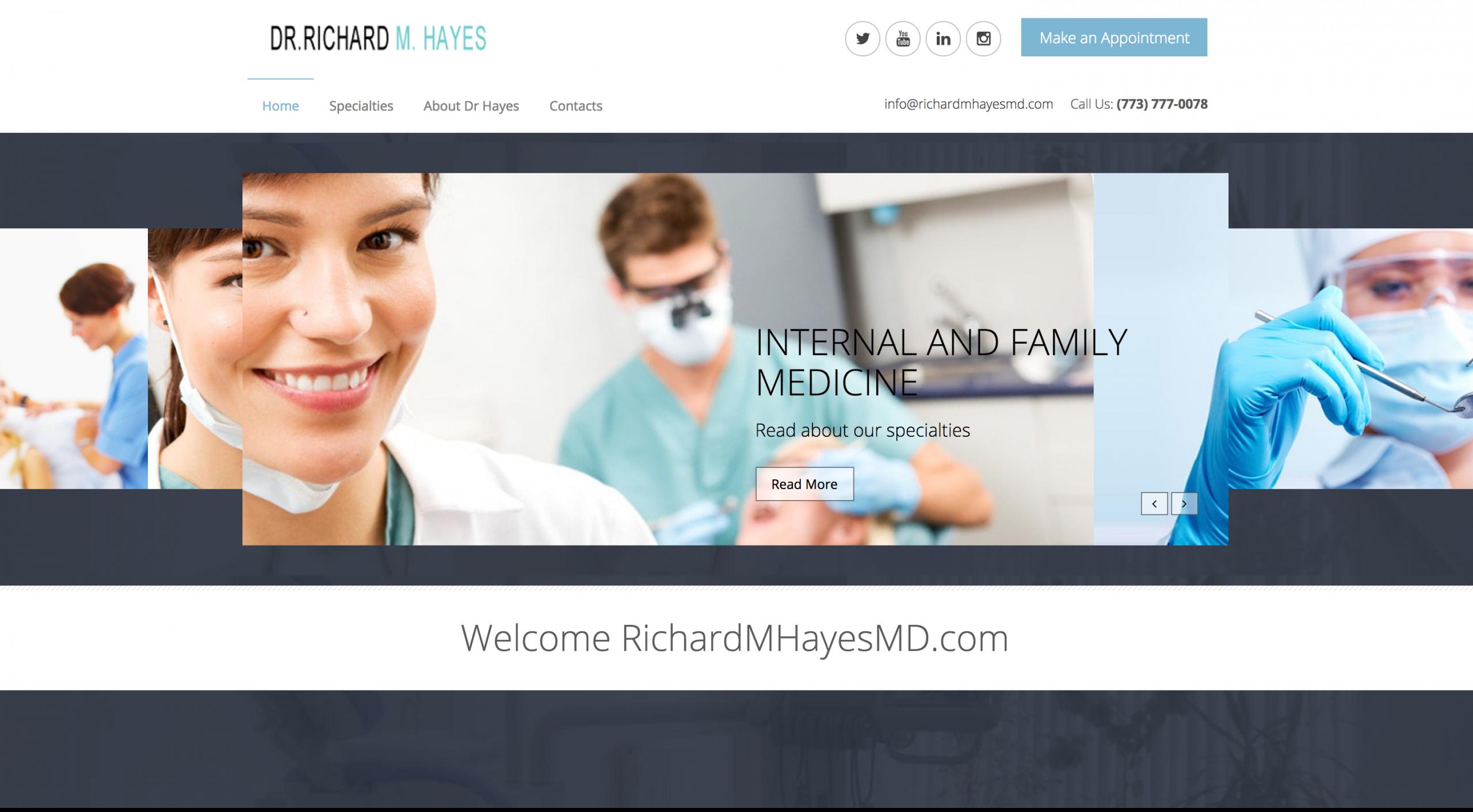 Dr. Richard Hayes – Owner