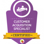 Customer Acquisition Specialist Certified