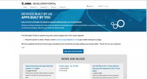 Zebra Technologies Developer Portal